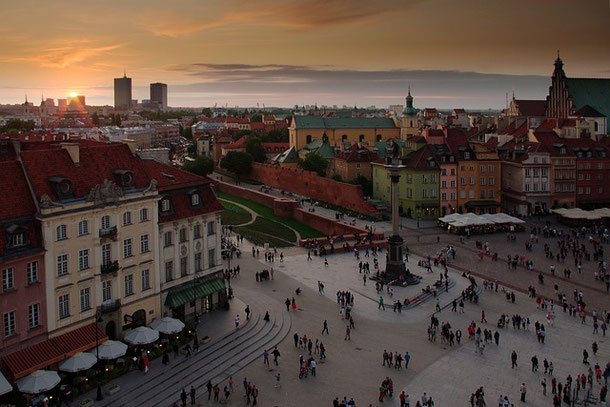 Warsaw Panorama of the Old Town: The list of the best observation decks and viewpoints in Warsaw for the most amazing sunsets