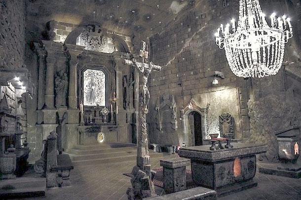 Соляная шахта в Польше Величка