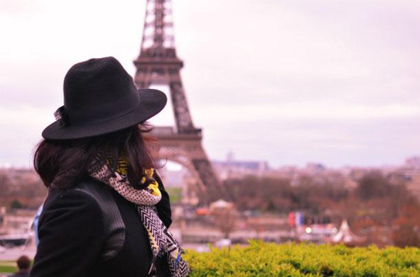 The Eiffel Tower Trocadero