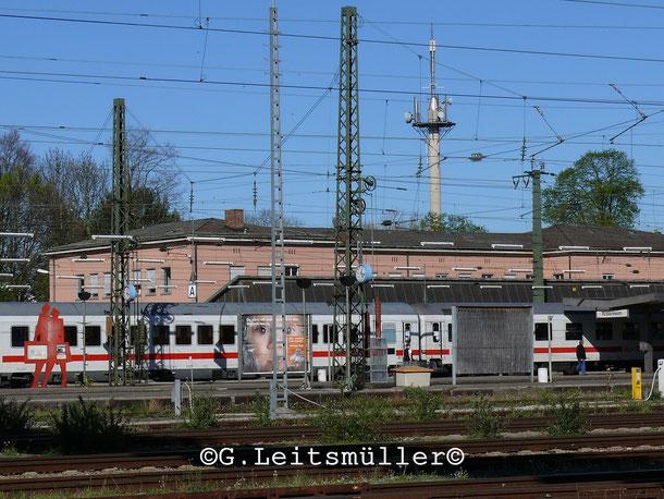 Bahnhofsgelände Rosenheim vor 9 Jahren