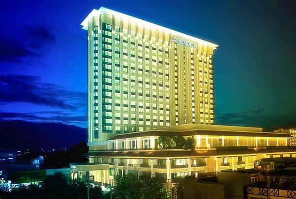 Le Meridien Hotel in Chiang Mai