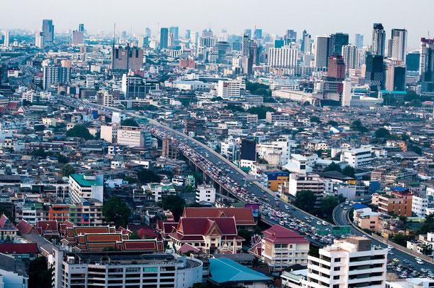 Thailand Strassenverkehr