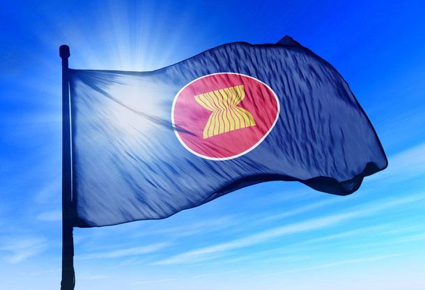 ASEAN Flagge