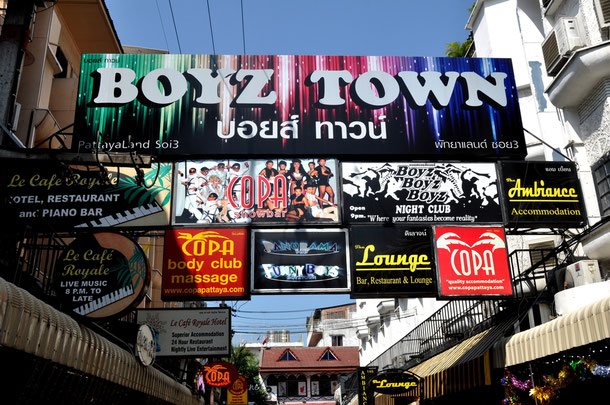 Boyz Town in Pattaya