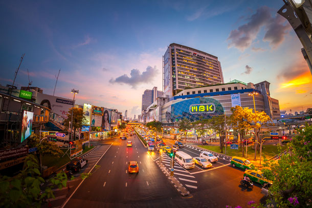 Das MBK Shopping-Center in Bangkok