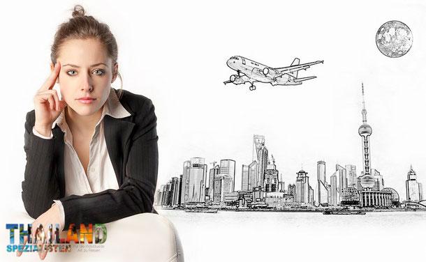Flug buchen Deutschland nach Bangkok