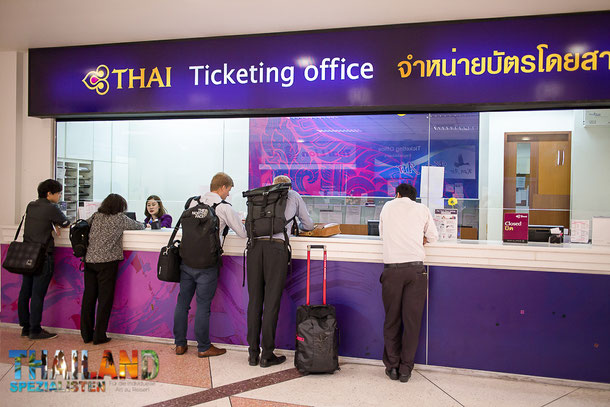 Ticketing Office Thai Airways Chiang Mai Airport