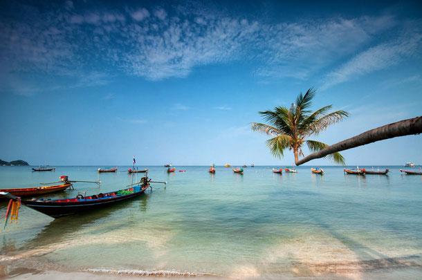 Inselhüpfen ab Bangkok - Koh Tao, Koh Phangan und Koh Samui