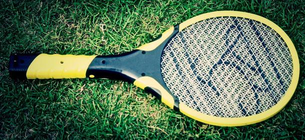 Elektrischer Tennisschläger