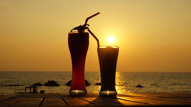 Sonnenuntergang strand ko lanta
