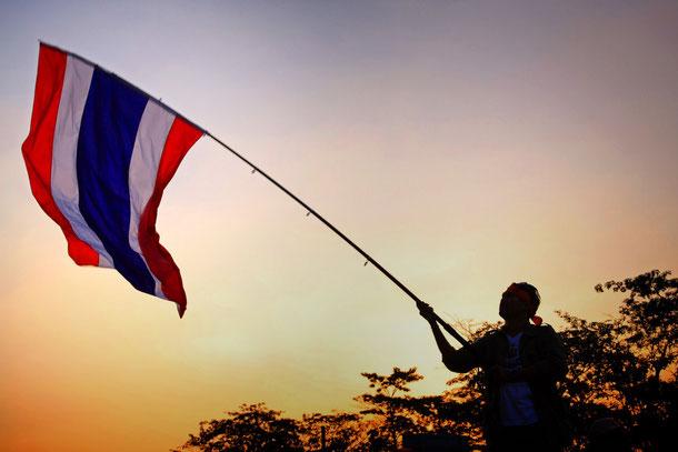 Politische Lage Thailand