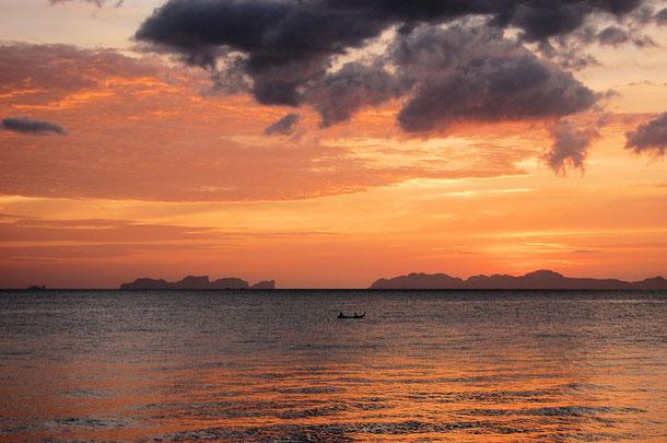 Aussicht auf Phi-Phi Inseln Don und Leh