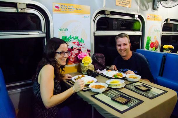 Zugfahrt Chiang Mai nach Bangkok