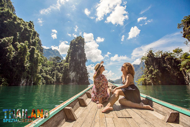 Cheow Lan Stausee in Khao Sok