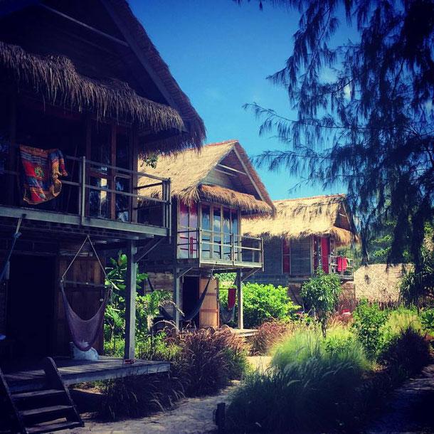 Koh Lipe Castaway Resort Strand-Bungalows