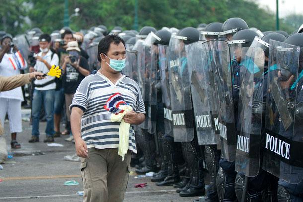 Ausnahmezustand in Bangkok