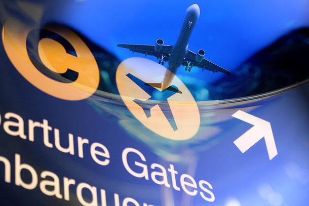 Langstreckenflug nach Bangkok