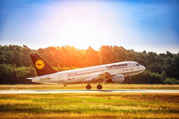 Lufthansa von Frankfurt am Main nach Bangkok