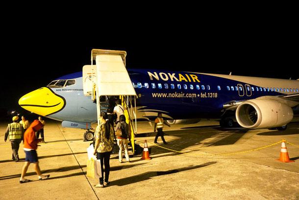 Nok Air am Flughafen Bangkok