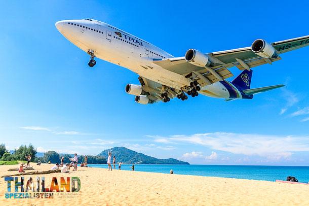 Durchgangstarife der Thai Airways