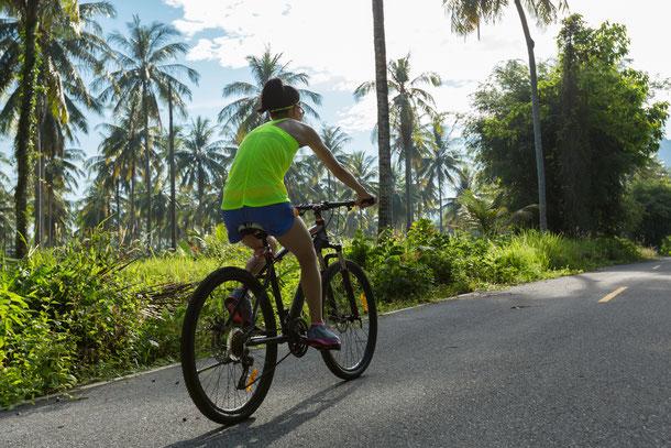 Mit dem Rad in Bangkoks Umland