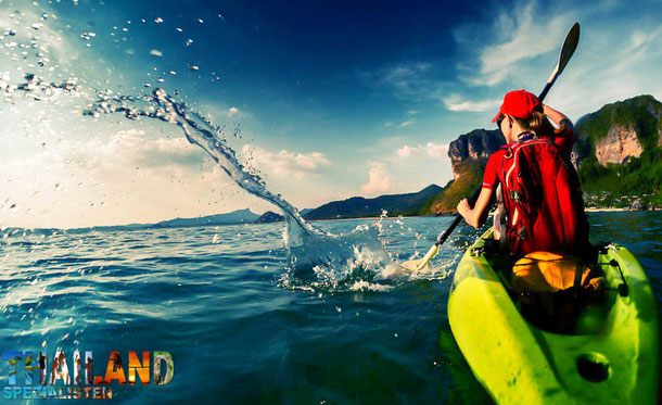 Inselreisen im Süden Thailands