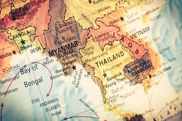 Myanmar Tourismus