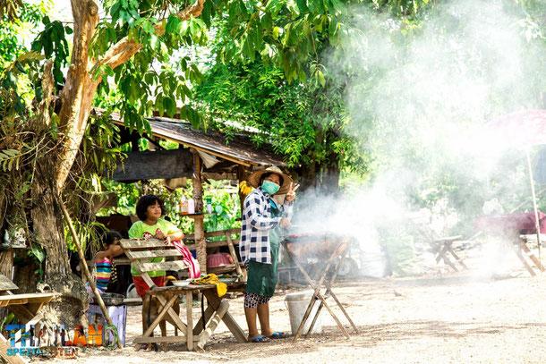 Essen in Thailand Garküchen