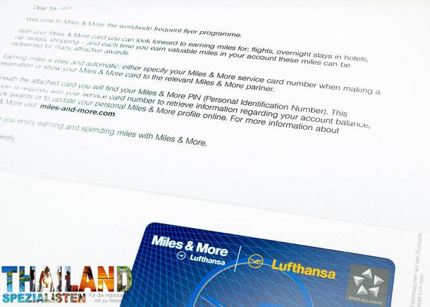 Für Thailand-Vielflieger besonders empfehlenswert: Miles and More