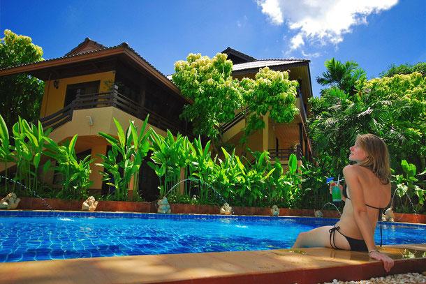 """Samui Laguna Resort während der Inselhopping-Tour """" ab Bangkok bis Koh Samui, Koh Phangan und Koh Tao."""""""