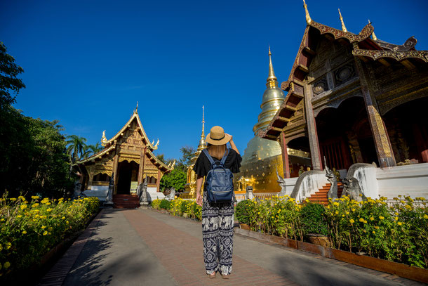 Wat Phra Singh in Chiang Mai Old City