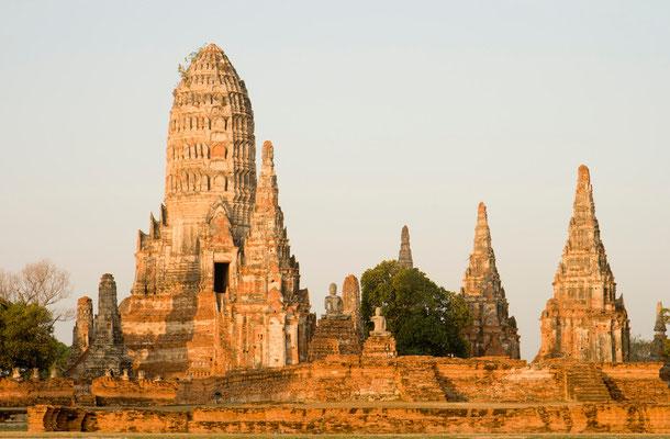 Wat Chai in Ayutthaya