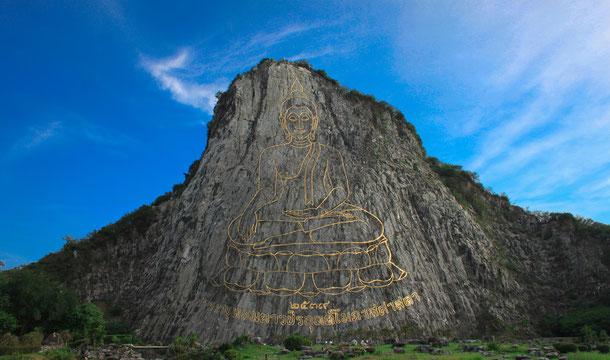 Buddha Mountain Khao Chi Chan