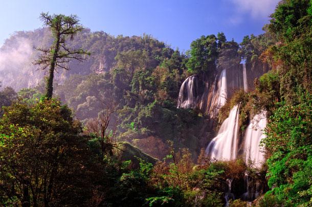 Thi-Lo-Su-Wasserfall, Umphang