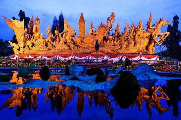 Das Ubon Ratchathani Kerzenfestival