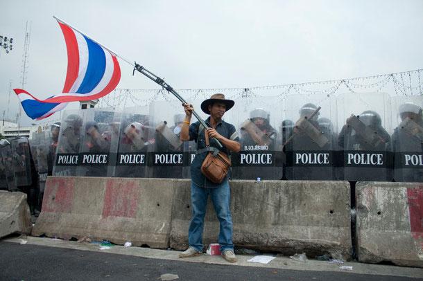 Aktuelle News zu den Unruhen in Bangkok