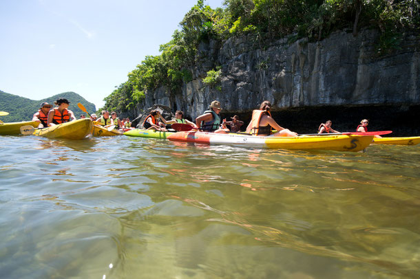 Kayak-Tour im Ang Thon Nationalpark