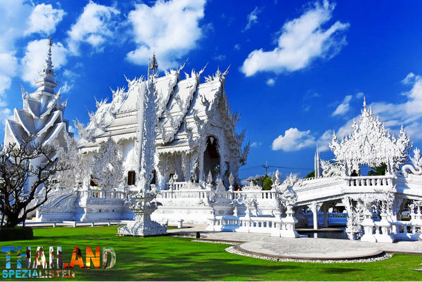 Wat Rong Khun - White Temple in Chiang Rai