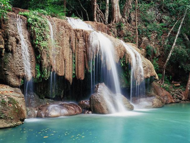 Erawan Wasserfall
