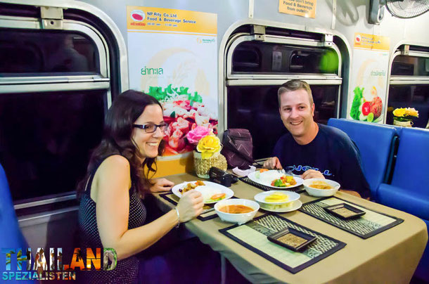 Zugfahrt nach Chiang Mai