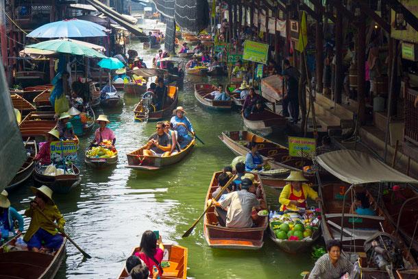Damnoen Saduak Thailand