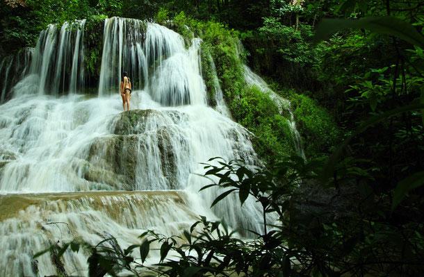 Wasserfall Kanchanaburi