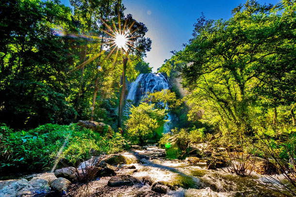 Schönsten Wasserfälle Thailands