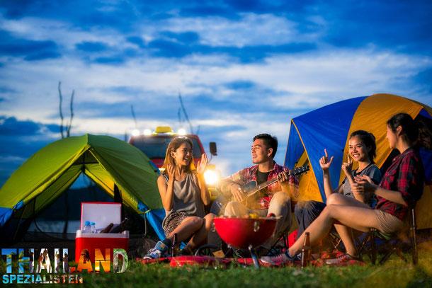 Zelten in Thailand