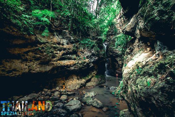 Pam Bok Wasserfall - Sehenswürdigkeit in Pai