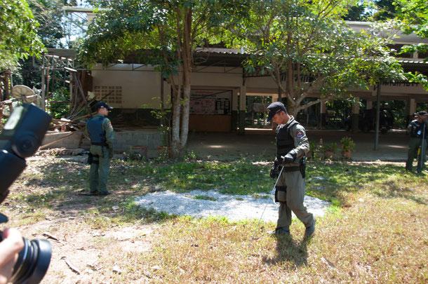 23. Februar 2012: Bombenexplosion an der Samukkee School in Yala.