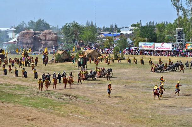 Elefantenfestival in Surin