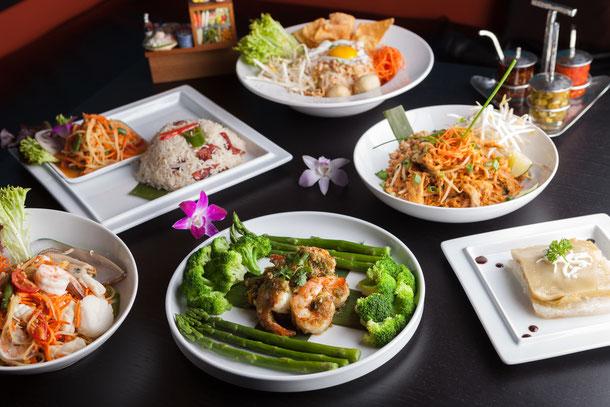 Thailändische Gerichte oder auch Thai-Food