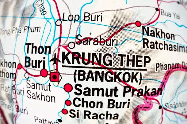 Bangkok Überschwemmungen und die Auswirkung des Klimawandels für Thailand