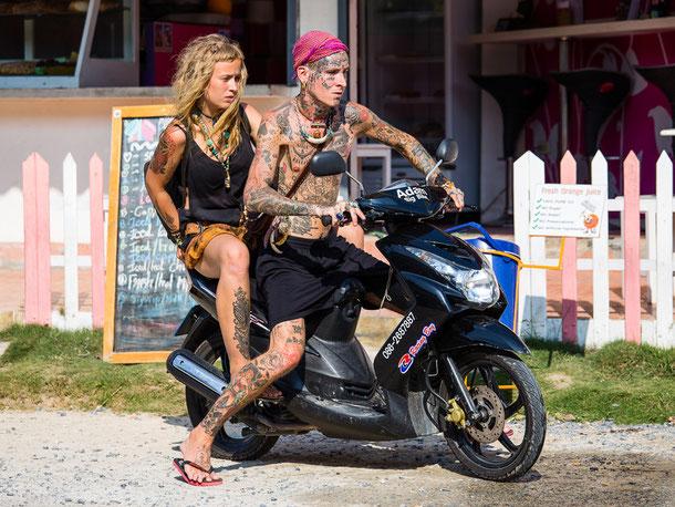 Motorradtouren in Thailand planen